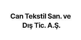 Can Tekstil San. ve Dış Tic. A.Ş.