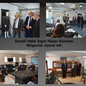 Denizli Valisi Sayın Hasan Karahan, Bölgemizi ziyaret etti.