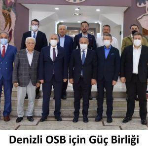 Denizli OSB için Güç Birliği