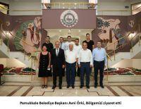 Pamukkale Belediye Başkanı Avni Örki Bölgemizi ziyaret etti