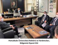 PAÜ Rektörü Kutluhan, DENİZLİ OSB'de