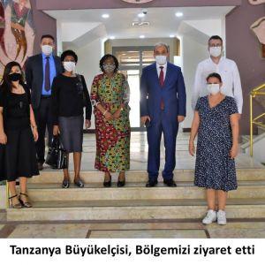 Tanzanya Büyükelçisi'nden Bölgemize Ziyaret
