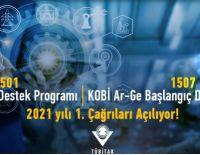 TUBİTAK 1501 Sanayi AR-GE Destek Programı ve 1507 KOBİ AR-GE Başlangıç Destek Programı