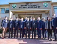 Sanayi ve Teknoloji Bakanı Mustafa Varank, Bölgemizi ziyaret etti.